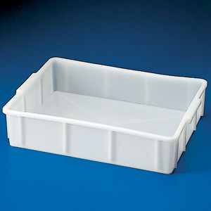 "Dynalon 208154-0020 Stackable Deep Tray, HDPE, 19 x 16 x 6"", 20 Liters"