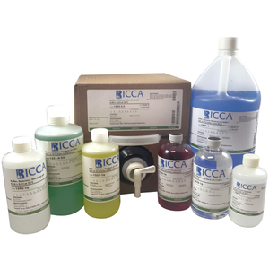 Buffer Concentrate, 5x, pH 4.00 ñ 0.01 at 25C (Color Coded Red) To be diluted with 4 parts Water before use, 10 Liter