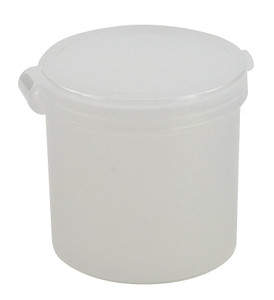 Containers, Hinged Lid 1oz, Flat, case/100