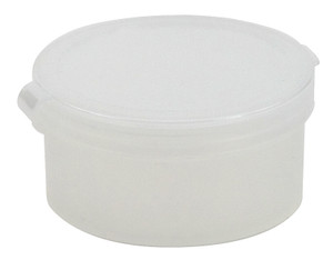 Containers, Hinged Lid 1oz, case/100