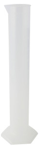 1000mL Graduated PP Cylinders, case/6