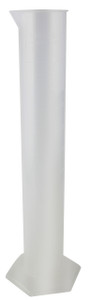 2000mL Graduated PP Cylinders, case/4