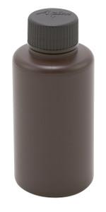 Bottle, HDPE, Narrow Mouth, Amber 5oz, case/72