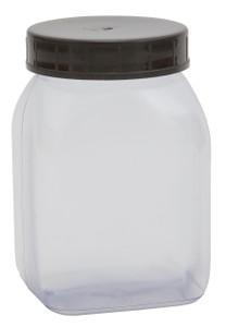 Bottle, PVC, Wide Mouth 200mL, case/72
