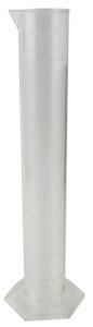 Graduated Cylinder, PMP, 1000mL, case/4
