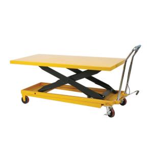 Wesco 273230 2200 lb Capacity Long Deck Scissors Table