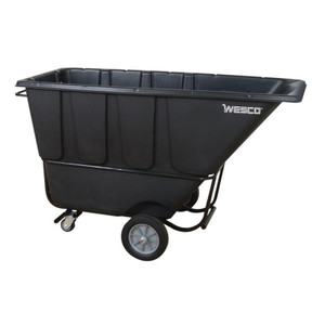 Wesco 272585 Model 1FL1250B Tilt Cart