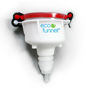 "4"" ECO Funnel with Barb Adapter for 3/8"" ID Tubing"