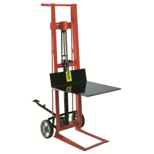 """Two Wheeled Hydraulic Model, Foot operated, 22.5""""W x 48.5""""H x 32""""D"""