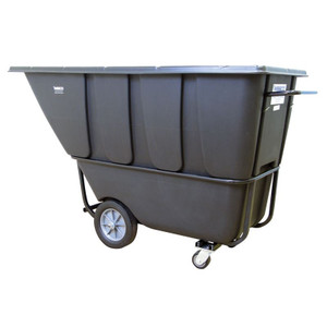 """Model 1HD2100B Tilt Cart, Heavy-duty,10"""" x 2.75"""" / 12"""" x 3"""" black rubber tread tire"""