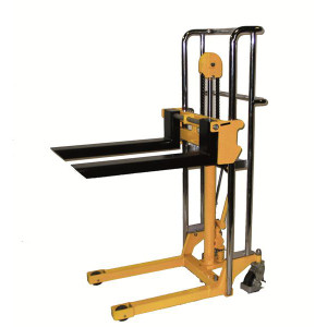 "Hydraulic Value Lift - Fork Model with Chrome Plated Rails And Handle, 22.5""W x 55""H x 36""D"