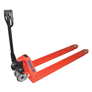 Long Fork Pallet Truck, Model Pt78 With Rubber Coated Handle