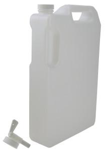 Bottle, Space Saver, 5 L with Faucet, case/12