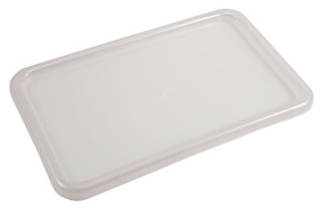 Lids for Tote Boxes, Natural Polypropylene, case/6