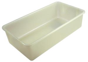 Tote Boxes, Natural Polypropylene, 19 x 10 x 5, case/6