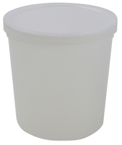 "Dynalon Containers, Disposable, 64oz (2000mL) 5.9 x 6.1"", case/50"