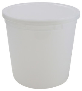 "Dynalon Containers, Disposable, 165oz (4000mL) 8.2 x 7.8"", case/25"
