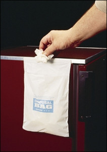 8x10 Cleanware Waste Bags, w/ Seal Autoclavable, case/50