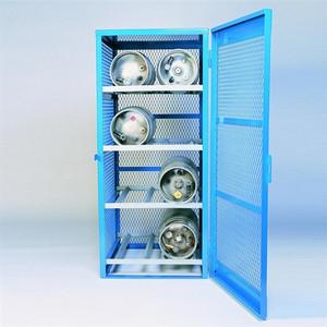 Denios Gas Bottle & Cylinder Storage Cage - 8 cylinder