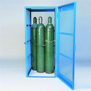 Gas Bottle & Cylinder Storage Cage - Single, Vertical 5-10 cylinder