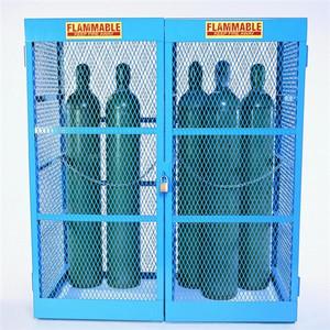 Gas Bottle & Cylinder Storage Cage - Double, Vertical 10-20 cylinder