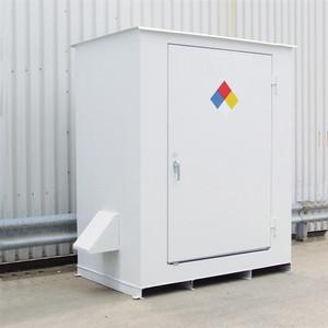 Denios N05-3004 Hazmat 2 Drum Storage Building, Non-Combustible