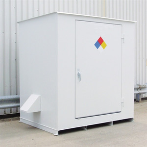 N05-3015 Hazmat 6 Drum Storage Building, Non-Combustible