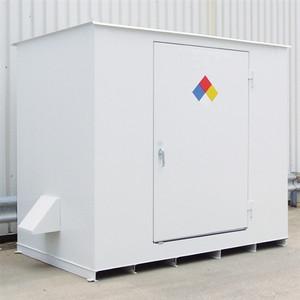 N05-3020 Hazmat 8 Drum Storage Building, Non-Combustible