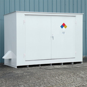 N05-3030 Hazmat 10 Drum Storage Building, Non-Combustible