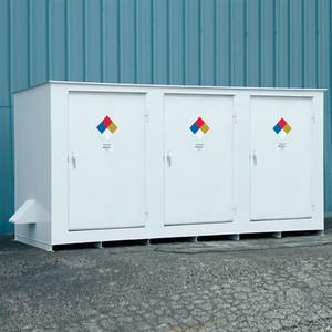 N05-3040 Hazmat 14 Drum Storage Building, Non-Combustible