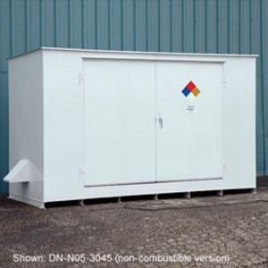 Denios N05-4035 Hazmat 12 Drum Storage Building, Fire Rated