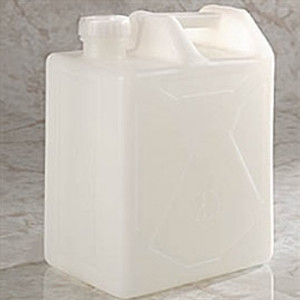20 Liter HDPE, Carboy, rectangular with cap size 70mm
