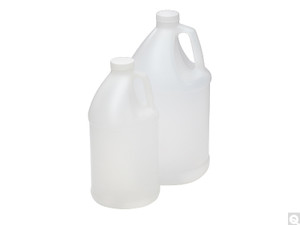 4 Liter HDPE, Jug with Handle, 38-400 Caps, case/4
