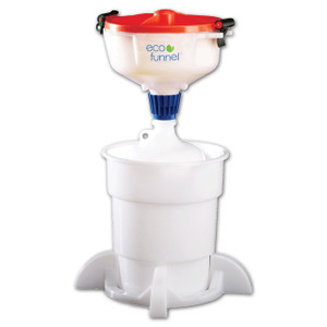 "8"" ECO Funnel System, 4 Liter, 38-430, Secondary Container"
