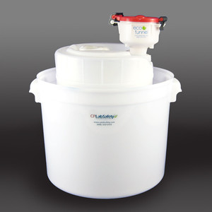 "4"" ECO Funnel System, 5 gallon, 70mm (FS70) Secondary Container"