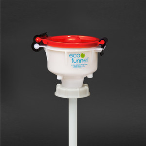 "4"" ECO Funnel with 70mm cap for 5 gal Samson Stacker"