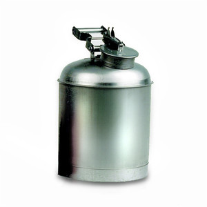 Eagle 1325 Safety Can, 5 gallon Safety Disposal Can, EAGLE, 316 Stainless Steel