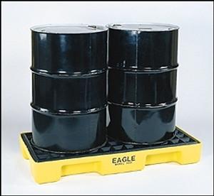 Eagle 1632 2 Drum Spill Pallet, Modular Platform
