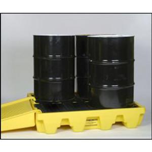 Eagle 1645 Drum Platform, 4 Drum Low Profile Containment Pallet