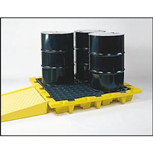 Eagle 1646 Drum Platform, 4-Drum Nesting Containment Pallet