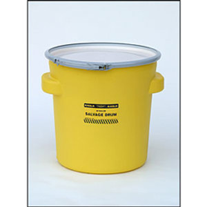 Eagle 1654 Drum Containment 20 gal Eagle Lab Pack Drum, Metal Lever-Locking Band