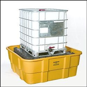 Eagle 1683 IBC Platform, 400 gallon IBC Containment Unit, Poly