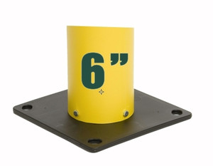 "Eagle 1730BASE Poly Base for 6"" Bollard Covers / Post Sleeves"