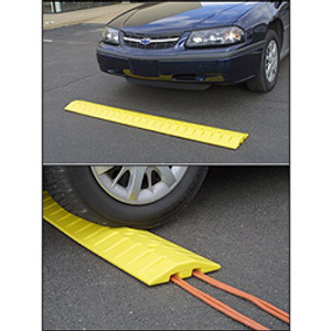 Speed Bump and Cable Crossing Unit, 6 ft.