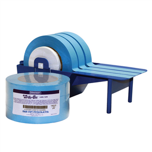 "Autoclavable Label Tape 40 Yds, blue 1/2"" wide, pack/6"