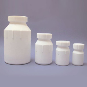 100mL Wide Mouth Bottle, PTFE, Each