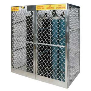 Justrite 23007 10-20 Cylinder, Vertical Gas Cylinder Storage Locker