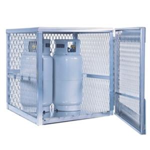 Justrite 23009 4 cylinder, Vertical Gas Cylinder Storage Locker (CSA)