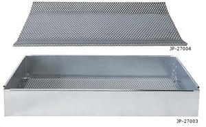 Justrite 27003 Parts Basket for Rinse Tanks, Fits 27110 and 27311