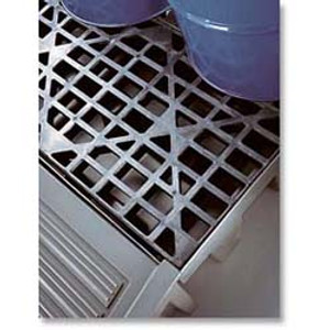 Justrite 28259 EcoPolyBlend Replacements Grates, 2 drum grate